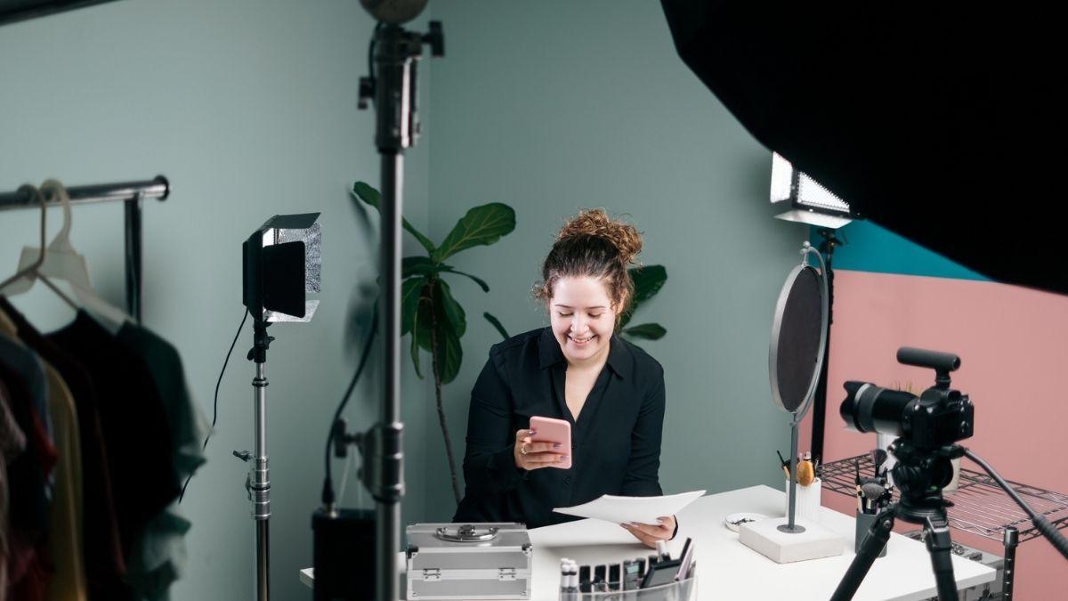 Live commerce, tutorial, blogueira, vídeo