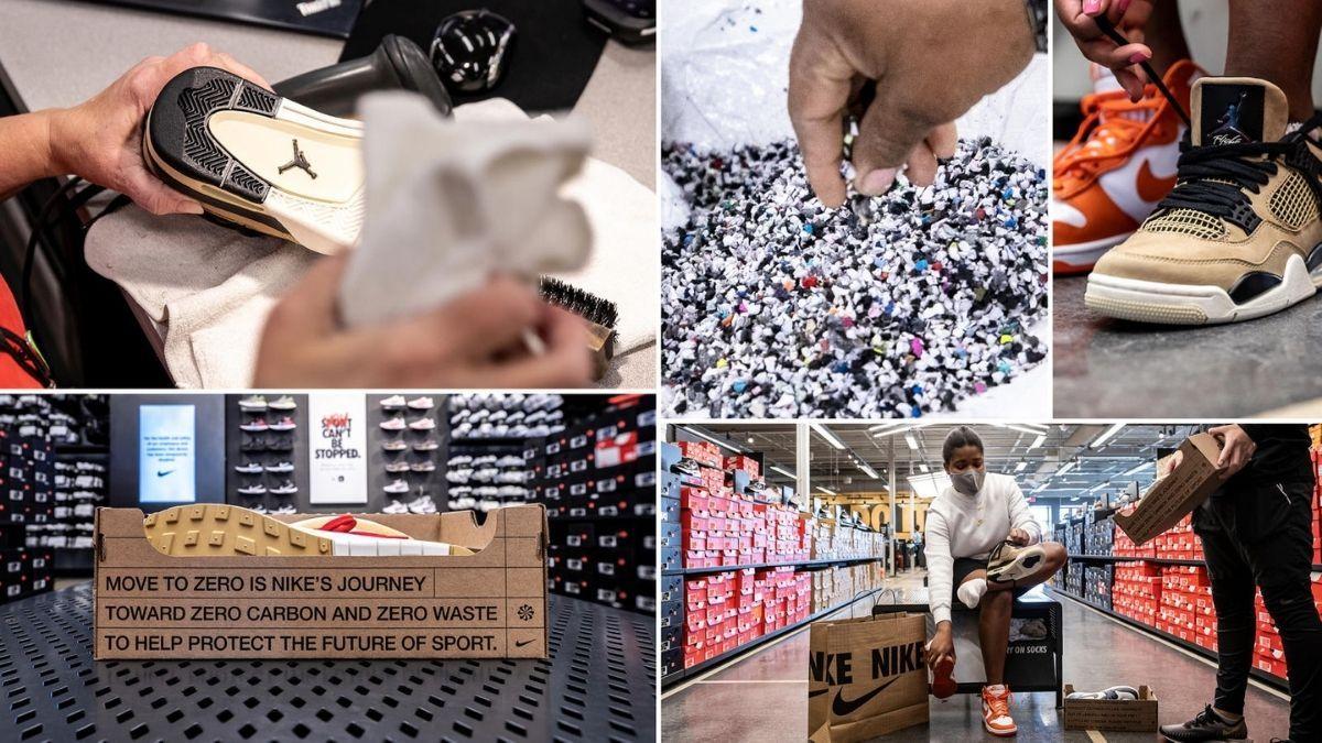 Nike cria programa de revenda de tênis usados (Foto: divulgação blog Nike)