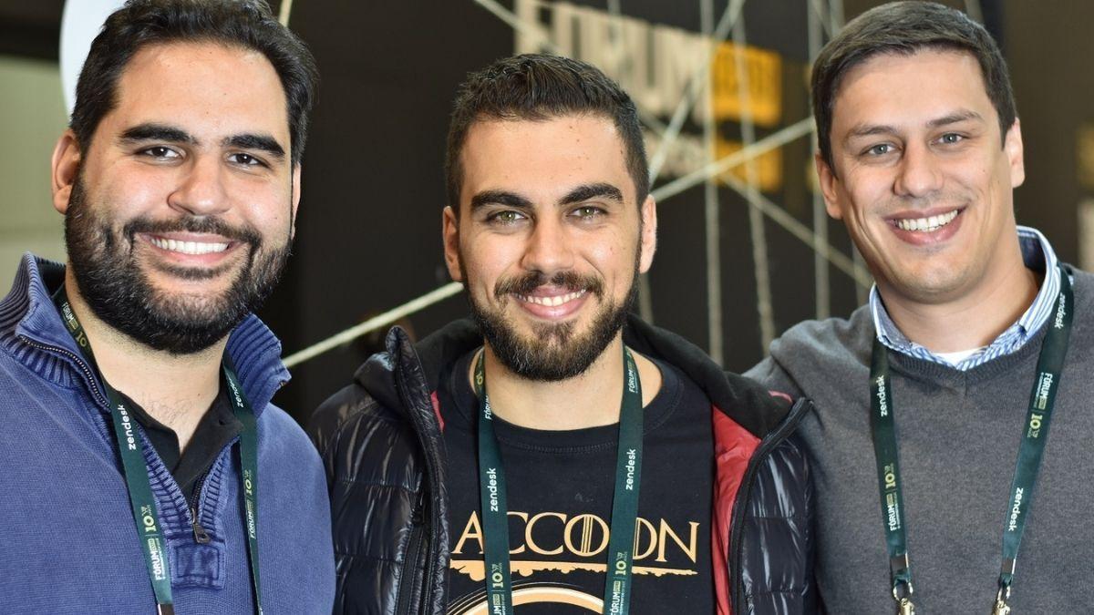 Túlio, André and Leonardo - Controller Partners of Raccoon